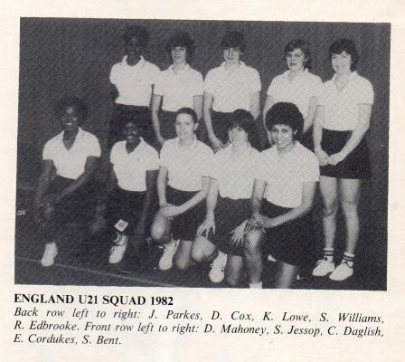 Back row l-r : Jess Parkes, D Cox, Kendra Lowe, S Williams, R Edbrooke. Front row l-r : D Mahiney, S Jessop, C Daglish, E Cordukes, S Bent.