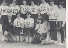1981 Aquila Netball Club Regional Clubs Knockout Winners