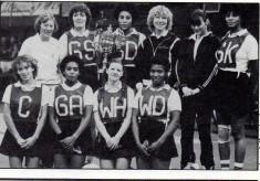 1982 OPA Netball Club Regional Clubs Knockout Winners 1982