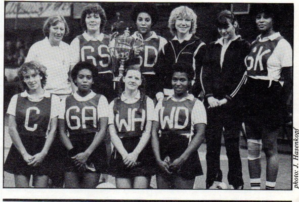 OPA Netball Club Regional Clubs Knockout Winners 1982