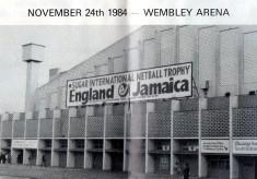 1984 'Sugar' International - England v Jamaica