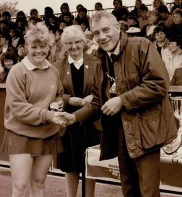 ?? Herts U21 runners-up, Pat Taylor and ???