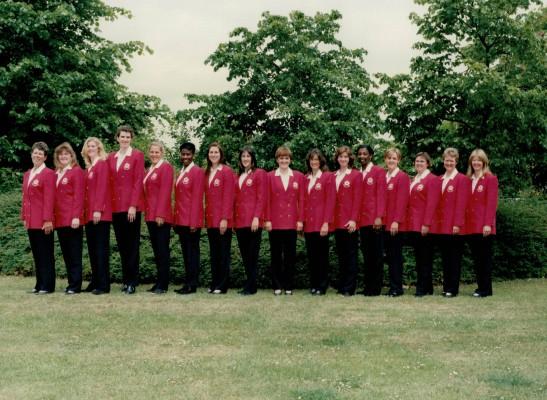 1997 England Squad to tour South Africa