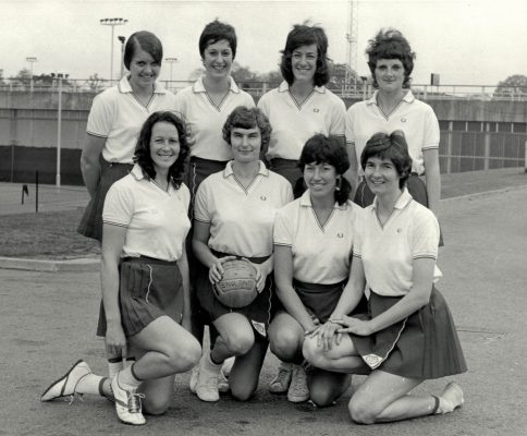 Back Row, left to right: Maria Stewart, Linda Alison, Pat Dudgeon, Emily McMahon Front Row: Helen Crowest, Anne Miles, Judy Heath, Cathy Hickey