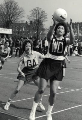 Birmingham receiving the ball against Herts