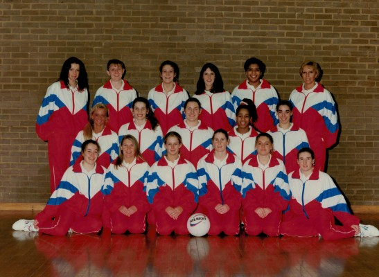 Jemma Sampson 2nd from the right on front row