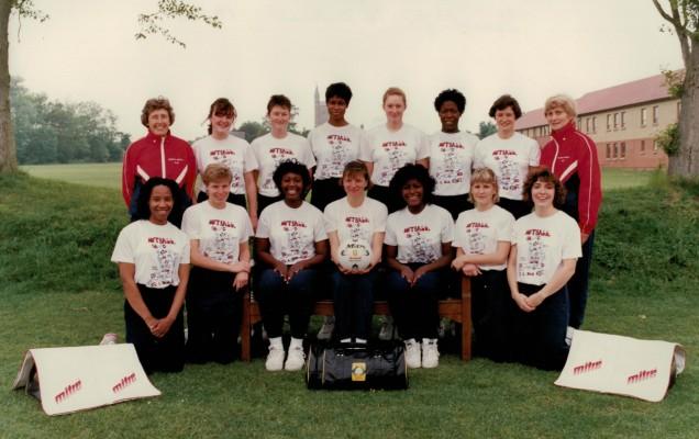 1995 England Squad for Tour of New Zealand April Milo Series