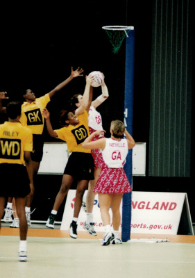 Lorriane Law GS and Tracey Neville