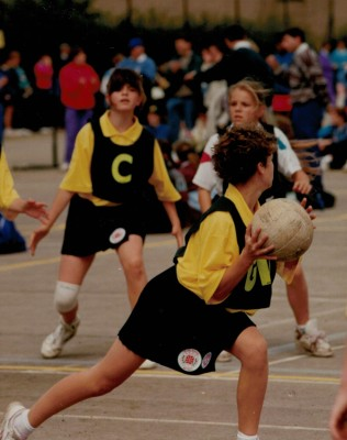 U11 at National Clubs Junior Championships playing First Step Netball which was launched in September 1993 | N Carruthers