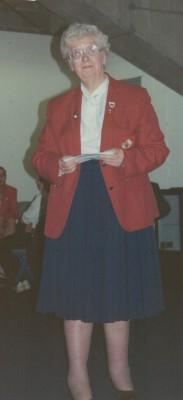 Pat Taylor England President 1993