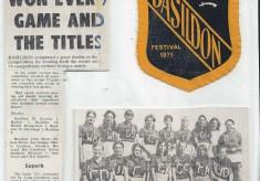 Basildon Rep Teams  Triumph