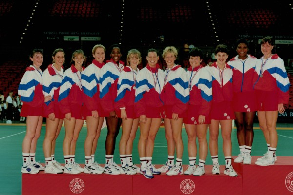 England Squad which played South Africa in 1994 at Wembley.