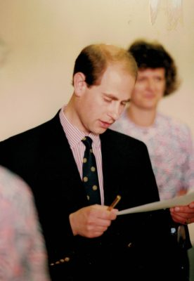 HRH Prince Edward welcoming the 9th World Championship to England