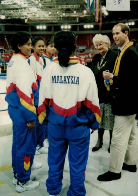 HRH Prince Edward meeting the Malaysian Team | Niels Carruthers