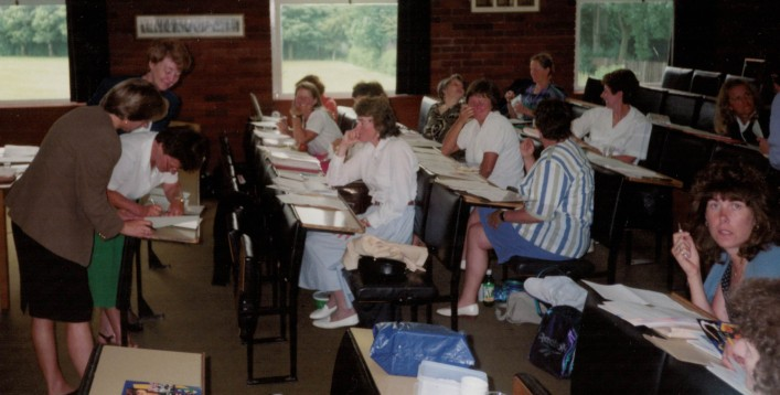 1994, 24th/25th September - Merger of ESNA (English Schools Netball Association) with AENA (All England Netball Association)