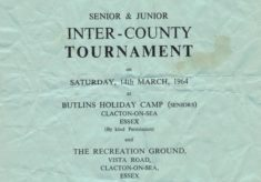 1964 Inter-counties Tournament, Clacton