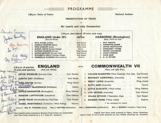 1966 England v Commonwealth VII, Wembley