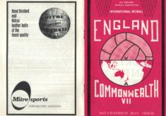 1969 England v Commonwealth VII, Wembley