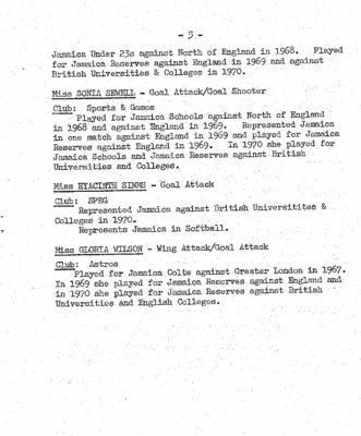 1970 Jamaica Tour of England & Scotland