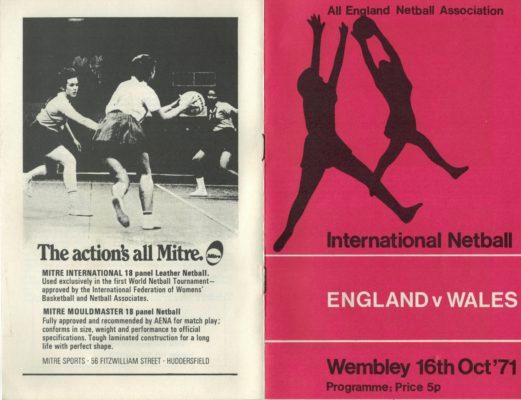 1971 England v Wales