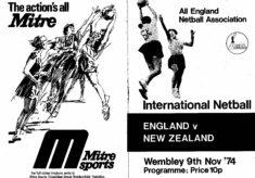 1974 England v New Zealand, Wembley