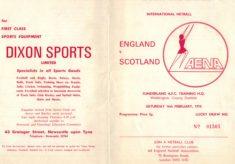 1974 England v Scotland, Sunderland