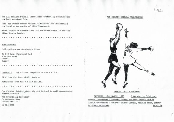 1975 Inter-Counties Tournament, Crystal Palace