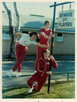 Certainly beware these players - Cathy Hickey, Judith Heath and Anne Miles