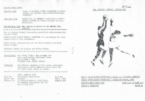 1976 Inter-Counties Tournament, Hertford