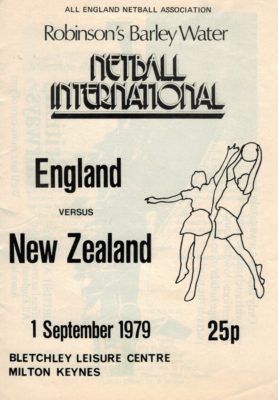 1979 England V New Zealand, Bletchley, Milton Keynes 1st September