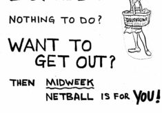 1986 Herts launch Netball for Mums