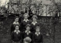 1958 Anne Miles School Netball Team
