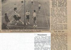 1969 England v Wales v Scotland v Northern Ireland, Northwood, Stoke-on-Trent