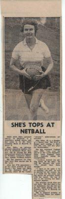 1976 Anne Miles is tops