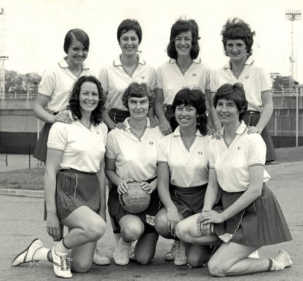 Back Row:  Maria Stewart, Linda Alison, Pat Dudgeon, Emily McMahon Front Row:  Helen Crowest, Anne Miles, Judy Heath, Cathy Hickey