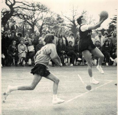 Sandra Ruggles (Middx) and Pam Jones (Surrey)