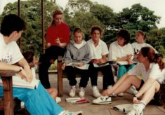 1991 National Youth Leaders Course, Nottingham University, July
