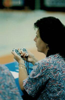 Sally Llewelwyn timekeeping
