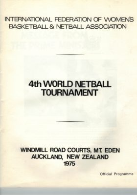 1975 4th World Tournament, New Zealand