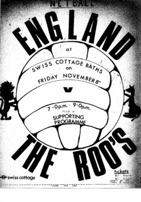 ROOS v England poster