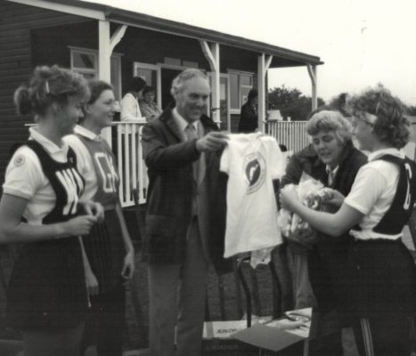 British Sugar T shirts being distributed