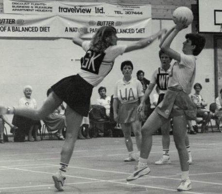 Sudbury defending against Scotstoun