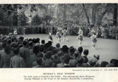 1952 circa, Lincoln's Inn match