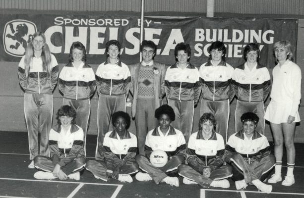 Seniors Back row: Heather Crouch (Coach), Anne Cush, Jillean Hipsey (Captain), Sponsor, Sue Keal, Sheila Edwards, Colette Thomson, Joyce Wheeler (Umpire) Front row: Kendra Lowe, Joan Bryan, Jesslyn Parkes, ???, Sharon Bent