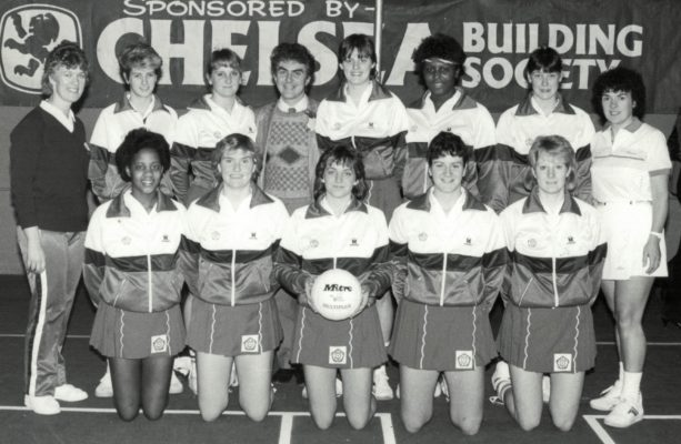 Under 21s Back row:  Gerry Cornwell (Coach), Claire ? (East Essex), Sharon ? (Beds), Sponsor,  Gill Norton, Maggie Farrell, Lucia Sdao, Maureen Lee (Umpire) Front row:   Lyn Shephard Captain Dawn Lunn, Lynda White