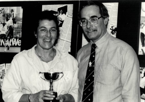 1989 Muriel McNally Award & Life Membership