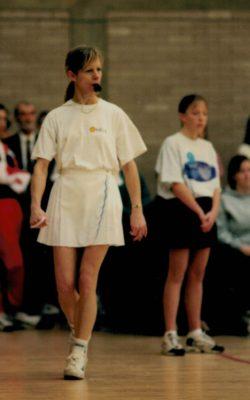 Umpire Christine Beasley