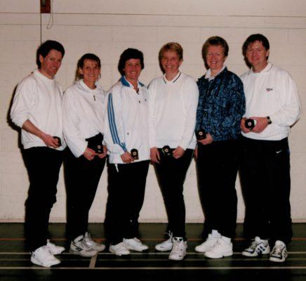 The Umpires - Dickon Adams, Ann Norman, Jo Kelly, Heather Gleadall, Margaret Deighan, Bill Alexander