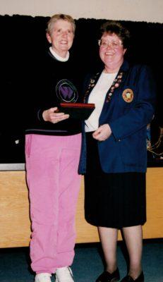 Pam Telford, ESNA President