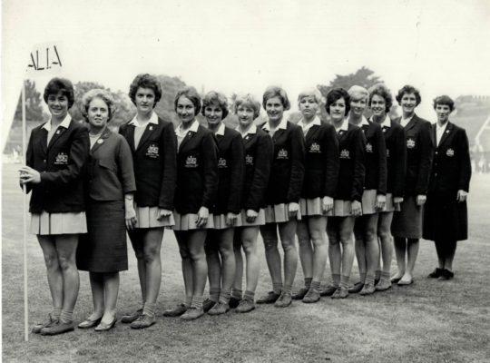 Full Australian delegation